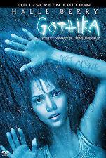 Gothika DVD Full Screen Halle Berry Robert Downey Jr Penelope Cruz Free Shipping
