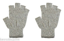 Half Finger Wool Winter Gloves Large FREE SHIPPING