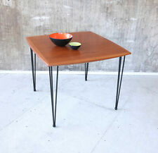 60er Teak Esstisch Mid-Century 60s Teakwood Dining Table Vintage