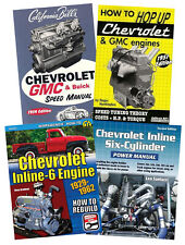 Ultimate Chevrolet Inline-6 Engine Rebuild Power Manual And  Box Set