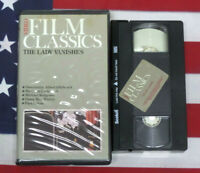 The Lady Vanishes (VHS, 1938) Alfred Hitchcock, Mystery Thriller Film Classic