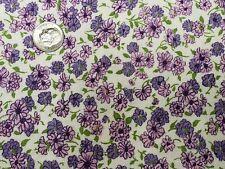 Best Vintage Feedsack Quilt Fabric 40s Tiny Lavender Purple Calico Flour Sack