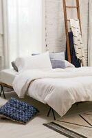 100% Cotton 300TC Single/Double/Queen/King/Super K Quilt/Duvet Cover Set White