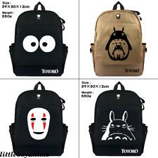 My Neighbor Totoro No Face man Backpack canvas Schoolbag Travel Bag shoulder bag