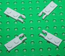 4 charnières Lego MdStone Hinge Plate ref 44302 set 7671 7657 10227 10179 10195