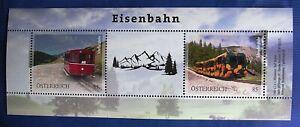 "ME2 - ""Eisenbahn"" Markenedition neu ab 2020  - Österreich 2W  BL PM Mai 2021**"