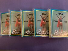 SUPERGIRL (The Movie) © 1984 Topps Complete 44 Sticker Card Set LOT of 5 SETS
