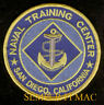US NAVY NAVAL TRAINING CENTER NTC SAN DIEGO PATCH BOOT CAMP BASIC PIN UP SON *NR