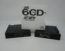 Lot of 2 Jvc Xc-M75 6-Compact Disc Magazine Home or Car use Kenwood compatible