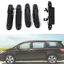 5Pcs Door handles Outside Front Rear Left Right Tailgate Fit 98-03 Toyota Sienna