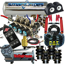 GMC G Body EZ Air Ride Accuair vs SmartRide 4 Way FBSS Air Ride 3/8 System