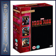 IRON MAN - COMPLETE MOVIE 1 2 & 3 COLLECTION  **BRAND NEW DVD BOXSET **