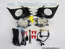 10 11 12 13 Scion tC LED DRL Fog Lamp Light SAE E9 2011 2012 2013 (Style: OEM)