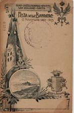 #GAETA- Fano-Castelfidardo...FESTA DELLE BANDIERE 1903- BRIGATA BERGAMO 25-26