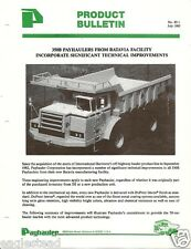Equipment Brochure - Payhauler - 350B - Off Road Haul Truck 1983 (Eb852)