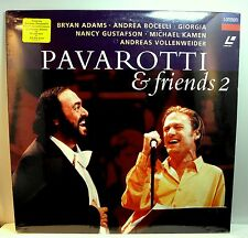 PAVAROTTI & FRIENDS 2 w/ Bryan Adams & Others  - Sealed Laser Disc (1995)