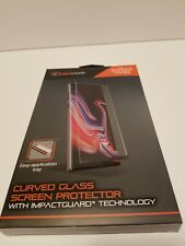 NEW Blackweb Curved Glass Screen Protector For Samsung Galaxy Note9 Impact guard