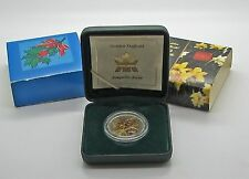 Canada 2003 Golden Daffodil 50 Cents Sterling  Canadian Cancer Society Sleeve