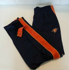 NEW Reebok Mens 2XL Multi Color Golden State Warriors Sweatpants Snap Legs VTG