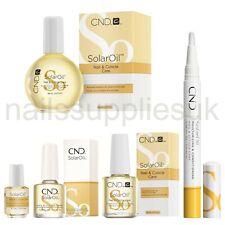 CND SOLAR ACEITE Uña & Cutícula Cuidado Todos los Tamaños Mini 3.7 7.3 15 Pro 68mL y cuidado de la pluma