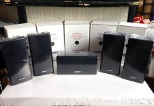 5 Bose Speakers [Includes Center] Double Cube/DoubleShot Lifestyle Acoustimass