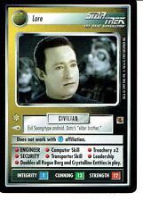 Star Trek Ccg Die Fajo Sammlung, Lore Selten Karte