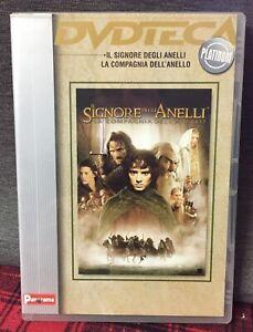 La Compagnia dell'Anello DVD Edit. IL Signore Degli Anelli Tolkien Come Foto