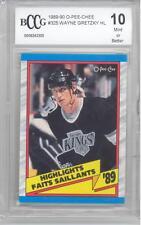 1989-90 O-Pee-Chee Wayne Gretzky (HOF) (Highlights) (#325) BCCG10 BCCG