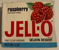 Vintage 1960's Jello Brand Gelatin Fruit Dessert Full NOS Sealed Unopened Box