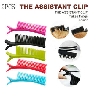 Hair Grip Hairdressing Sectioning Cutting Clamps Clips Dyeing Hairstyling Tool g