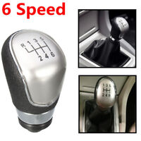 6 Speed Gear Shift Stick Knob For Ford Focus MK2 C-max Mondeo Galaxy Fiesta Kuga