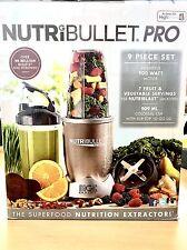 NUTRIBULLET 900 Series Frullatore Smoothie Maker Mixer Nutrition Estrattore 9 PEZZI