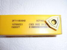 NEU 10 Kennametal DFT110508HD KC7140 Bohrplatte Wendeplatte mit Rechnung