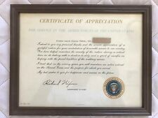 Certificate of Appreciation For Service in the Armed Forces of the United States