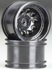 "RPM 'Revolver' 2.2"" Rock Crawler Wheels, Wide Wheelbase (Black) - 82232"