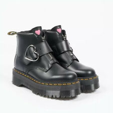 Lazy Oaf X Dr Martens Buckle Boot Women's Size 11