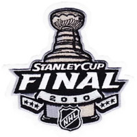 2010 NHL Stanley Cup Finals Jersey Patch Chicago Blackhawks Philadelphia Flyers