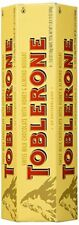 TOBLERONE SWISS MILK CHOCOLATE WITH HONEY AND ALMOND NOUGAT 6 X 100 G BARS