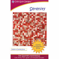 serenity Quilt Pattern by Cozy Quilt Designs