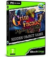 Grim Facade Mystery of Venice (PC CD) cd rom sealed