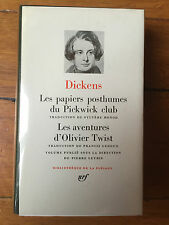 Dickens - Les papiers posthumes du Pickwick Club - Pléiade  - N° 133 Comme neuf