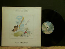SEALS AND CROFTS  Unborn Child   LP  Rare UK  1st issue   Vinyl    Lovely copy !
