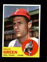 1963 TOPPS #91 DALLAS GREEN NM PHILLIES NICELY CENTERED *SBA4012