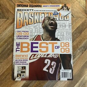 Lebron James September 2009 Beckett Basketball Magazine Cover Cleveland Cavs