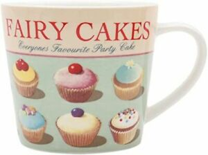 Martin Wiscombe Retro Fairy Cakes Porcelain Mug - Large Range in Stock
