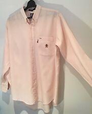 Tommy Hilfiger Camisa Rosa Manga Larga Inteligente Talla 17/34 in (approx. 86.36 cm)