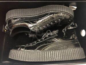 Men's Fenty Puma Creeper in Black 9/10 condition Rihanna Clyde size 10 US