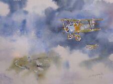 Artista acuarela volando en el cielo B Hepworth envío gratis a continental