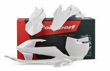 Polisport KTM SX 65 16-18 kit de plástico todo blanco 90685 Motocross MX Polisport