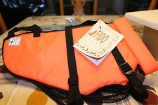 Fido Float Medium Swim Vest Orange New